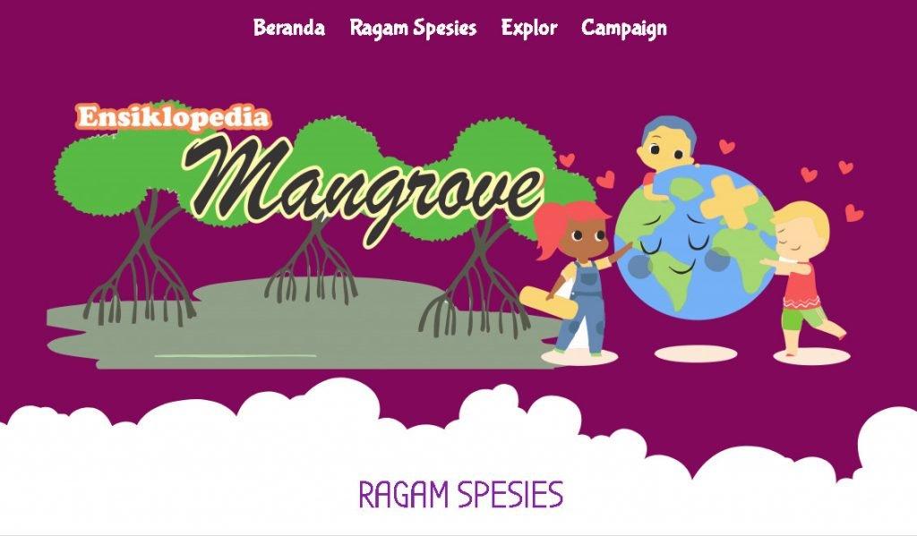 Website Pendidikan Ensiklopedia Mangrove